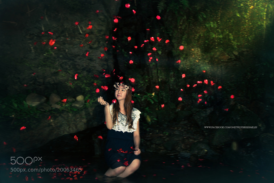 Photograph woman and Rose by ChaoPavit on 500px