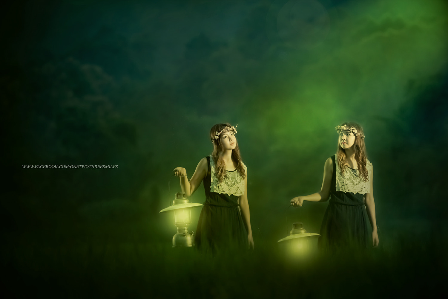 Photograph Twins Woman with the lantern by ChaoPavit123Smiles on 500px