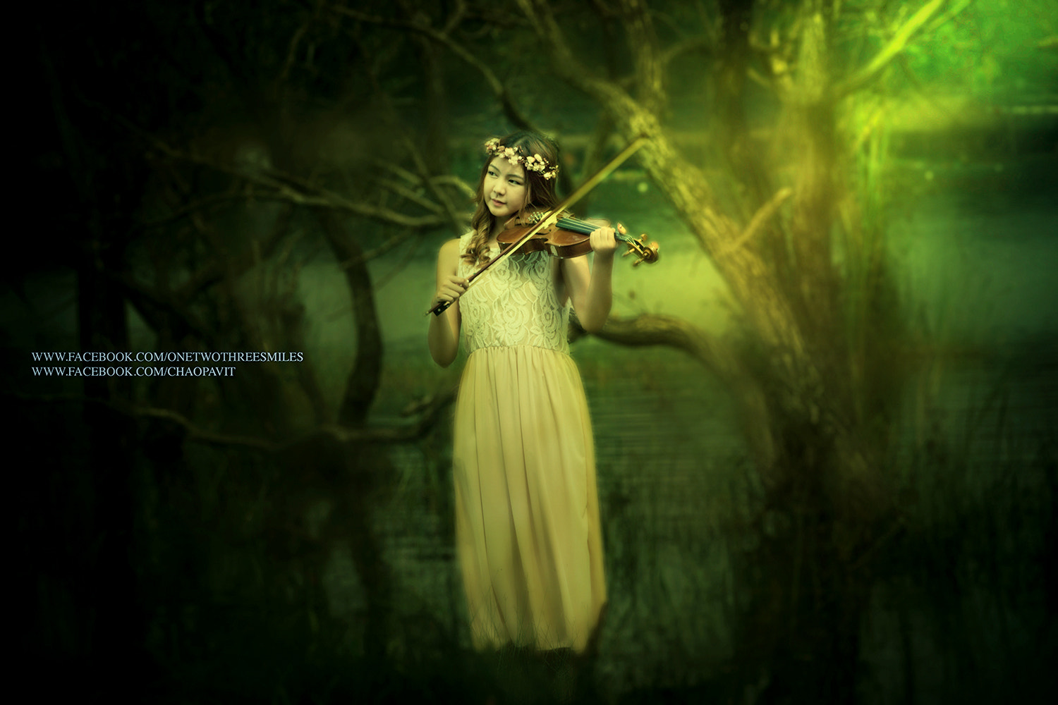 Photograph woman with violin by Chao Pavit on 500px