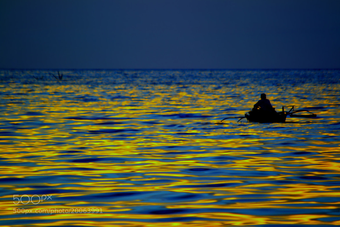 Photograph Golden Sea by Wilfredo Lumagbas Jr. on 500px