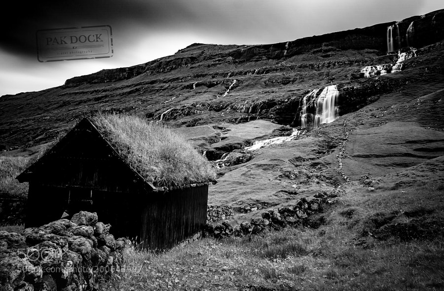 Saksun in B&W - Faroe Islands