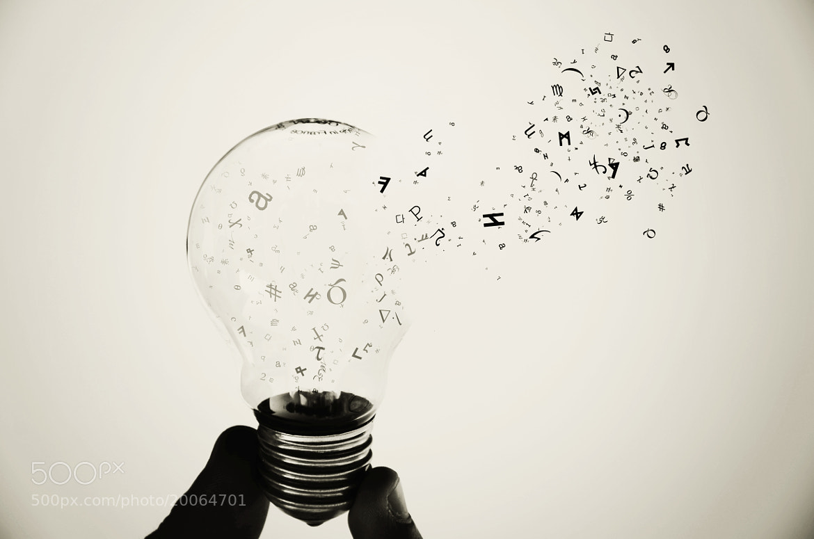 Photograph knowledge bulb by Adrian Limani on 500px