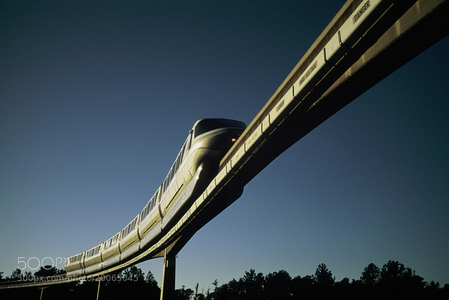 Monorail to Epcot by Curtis James (oswald808)) on 500px.com