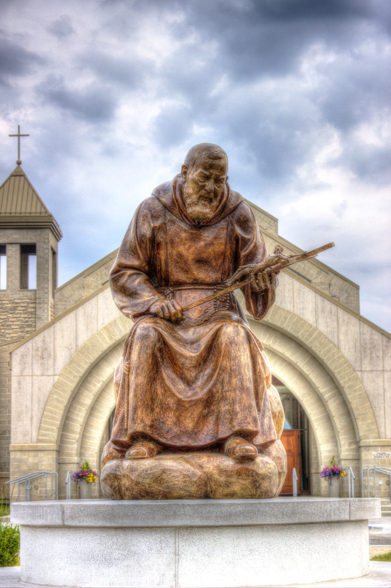 Photograph St. Padre Pio by John Velocci on 500px