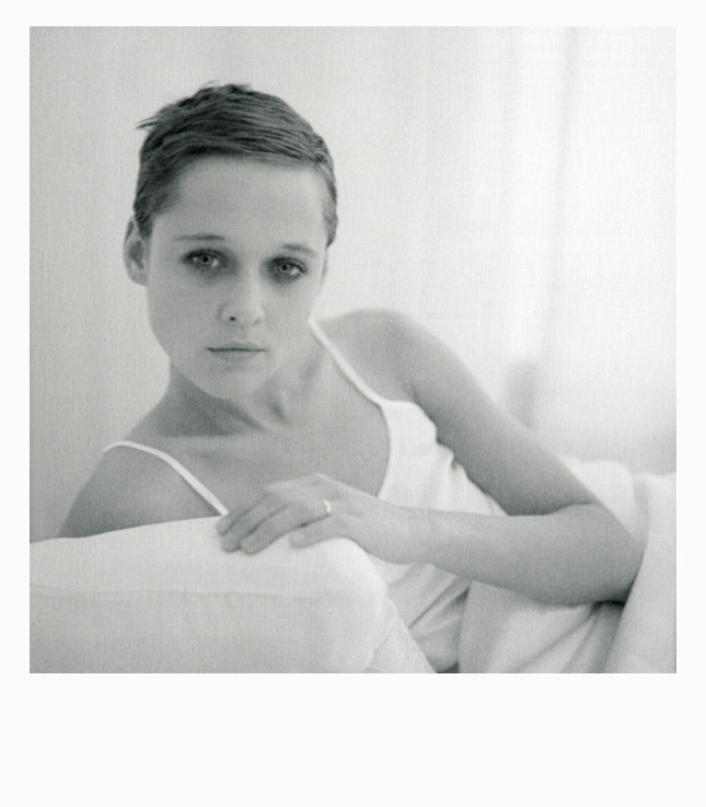 Patricia for client Coconelle silk [Polaroid]