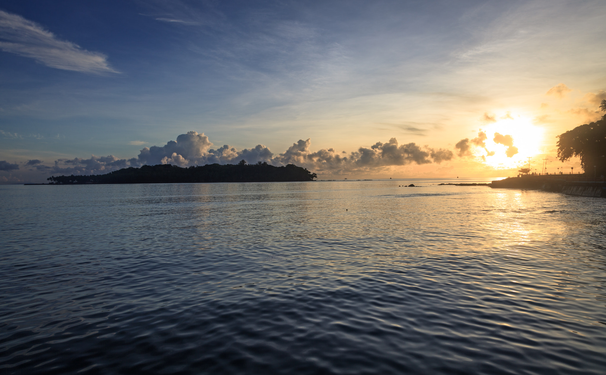 Photograph Sunrise at Portblair by S A  I on 500px