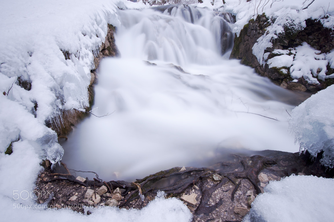 Photograph Little Winter Falls by Csilla Zelko on 500px