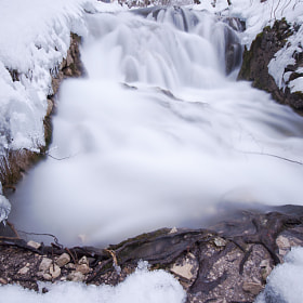 Little Winter Falls by Csilla Zelko (csillogo11)) on 500px.com
