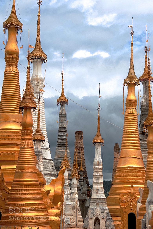 Photograph Pagodas ... by Eo NaYa on 500px