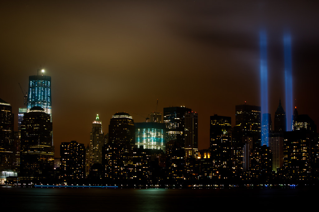 Photograph 9/11/11 A Tribute in Lights by Jon D on 500px