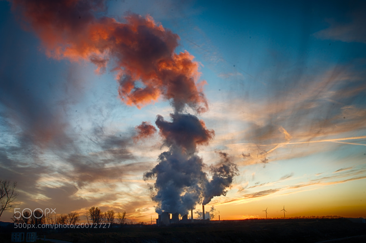 Photograph power plant cloud by world_image on 500px