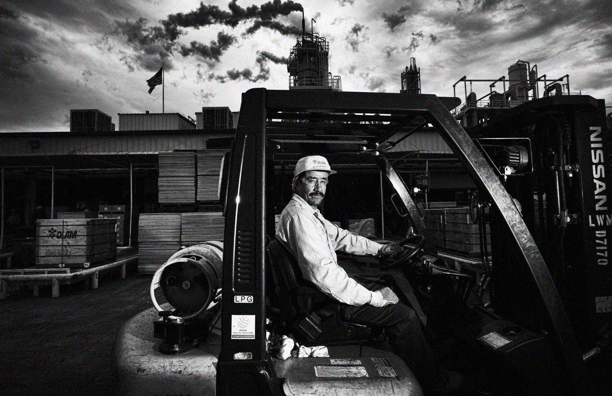 Photograph Forklift operator, USA by Kevin  Yang on 500px