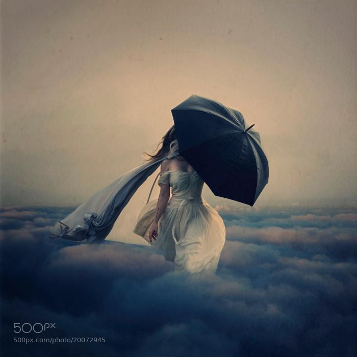 Photograph The Storm Above the Clouds by Brooke Shaden on 500px