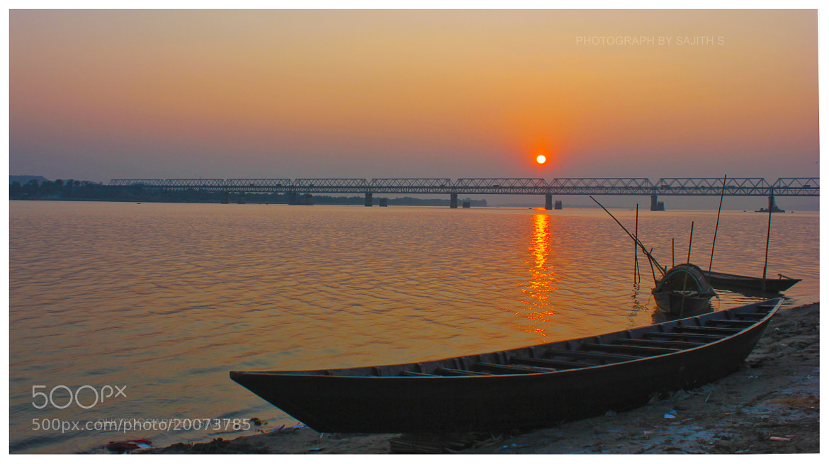 Photograph Bridge at Sunset 2 by Sajith S on 500px