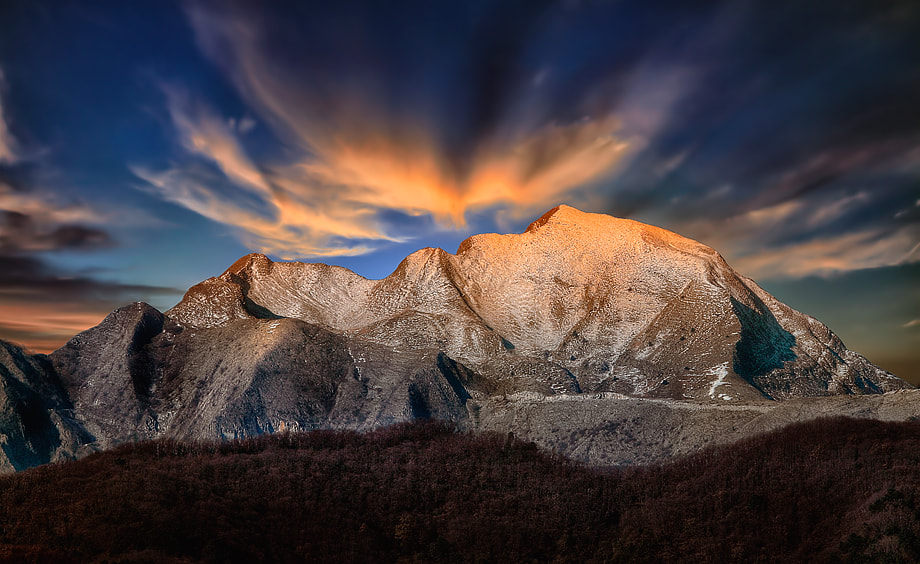 Photograph Clouds on the Apuane by Roberto Becucci on 500px