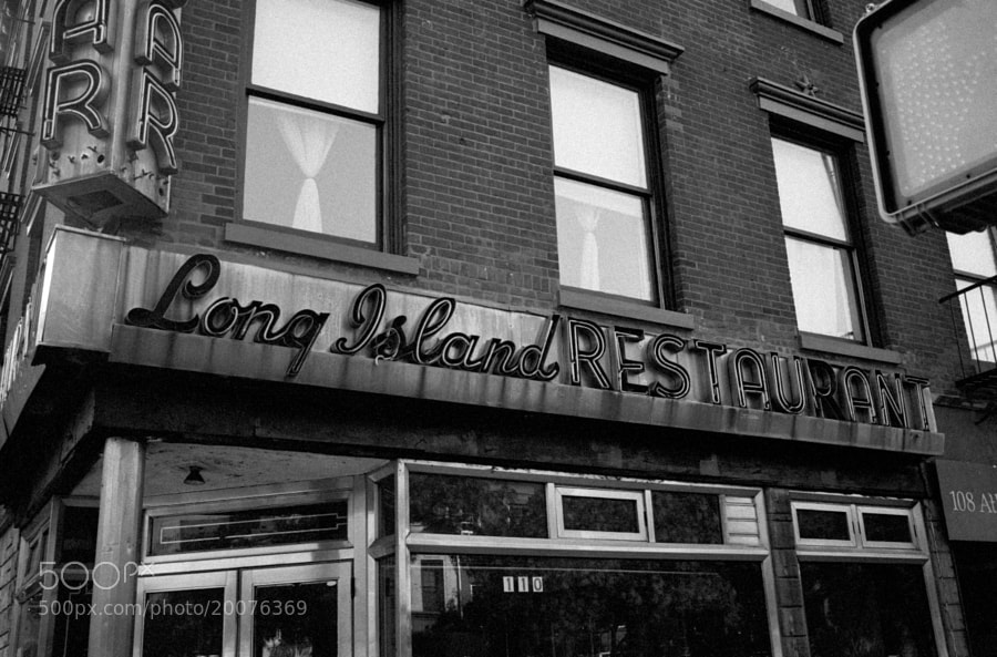 Long Island Restaurant, Brooklyn by Curtis James (oswald808)) on 500px.com