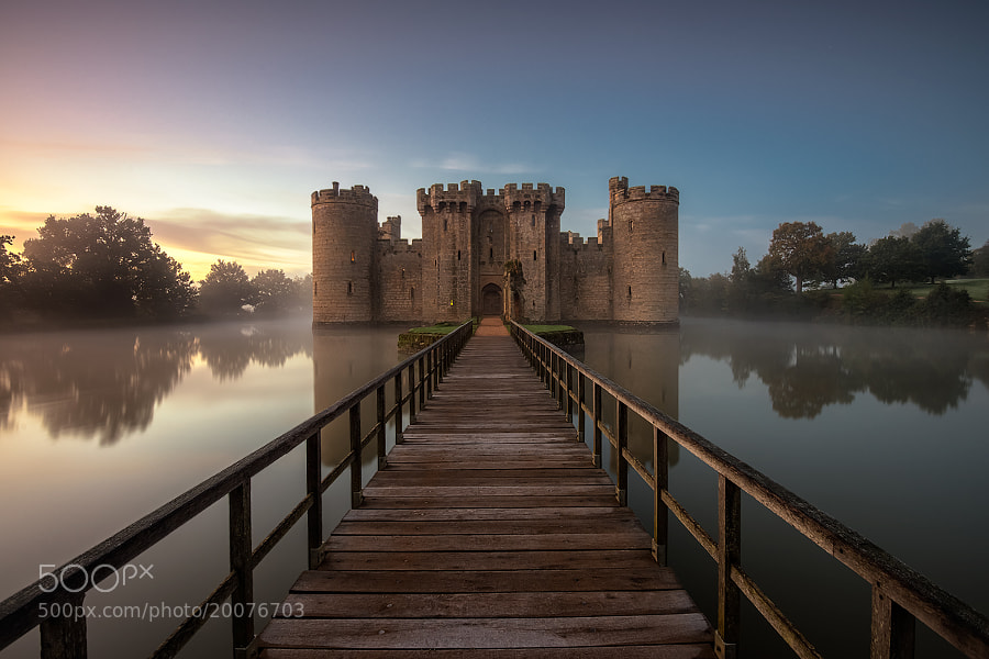 Photograph bodiam castle by Mirek Galagus on 500px