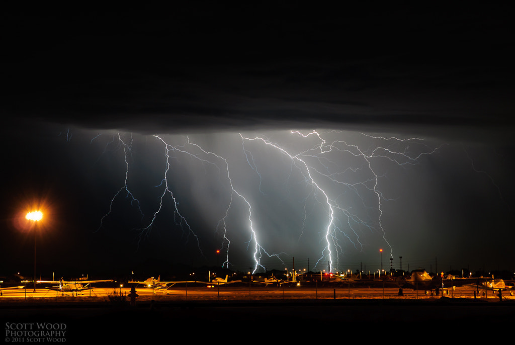Photograph Airplanes and Lightning Bolts by Scott Wood on 500px
