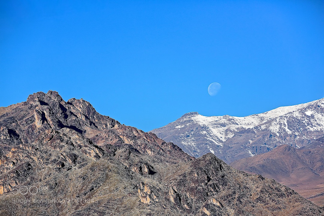 Photograph Moon in Midday by Majid Behzad on 500px