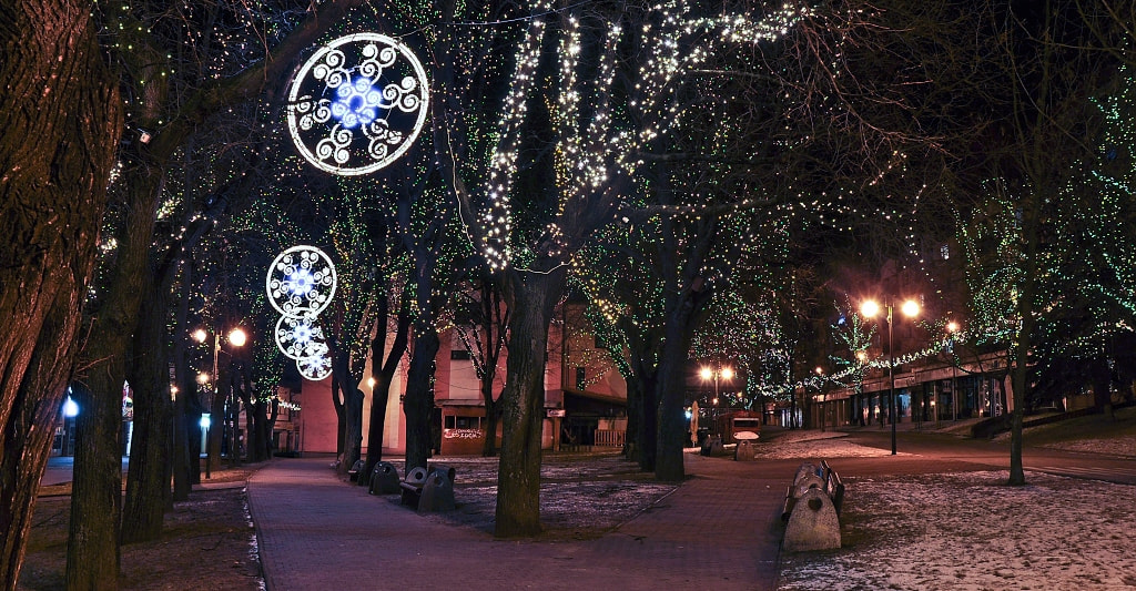 Photograph Christmas City by Dave Mariancik on 500px