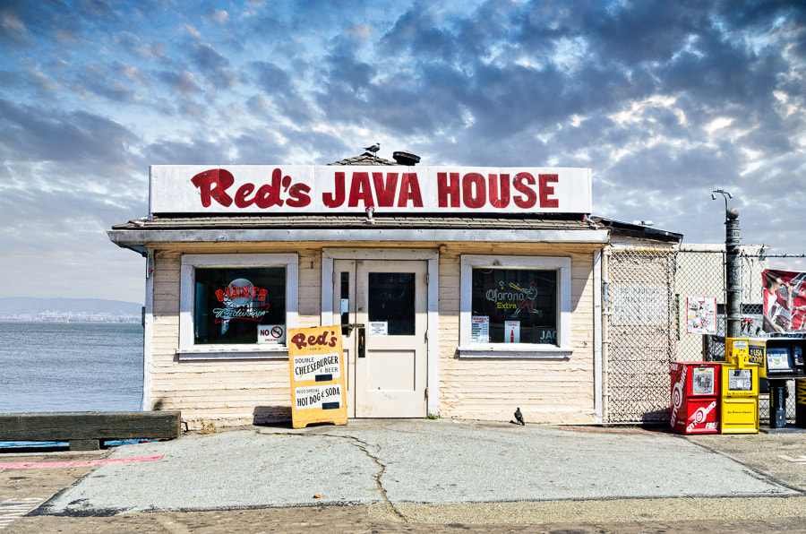 Photograph Red's Java House by Tim Fleming on 500px