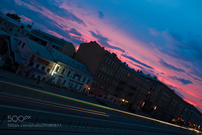 Photograph Night lines by Sergey Shaposhnikov on 500px