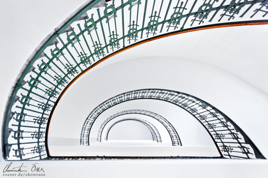 Photograph Otto Wagner Stairs 1  by Christian Öser on 500px