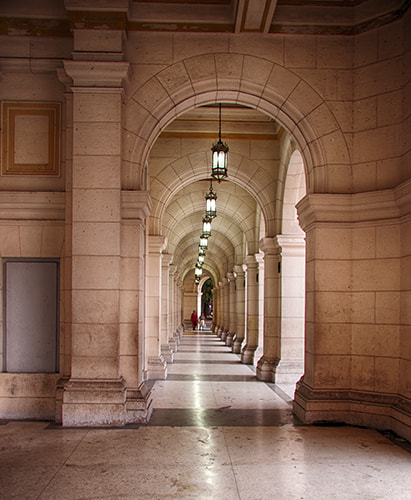 Photograph Hallway by Michael Zbiegien on 500px
