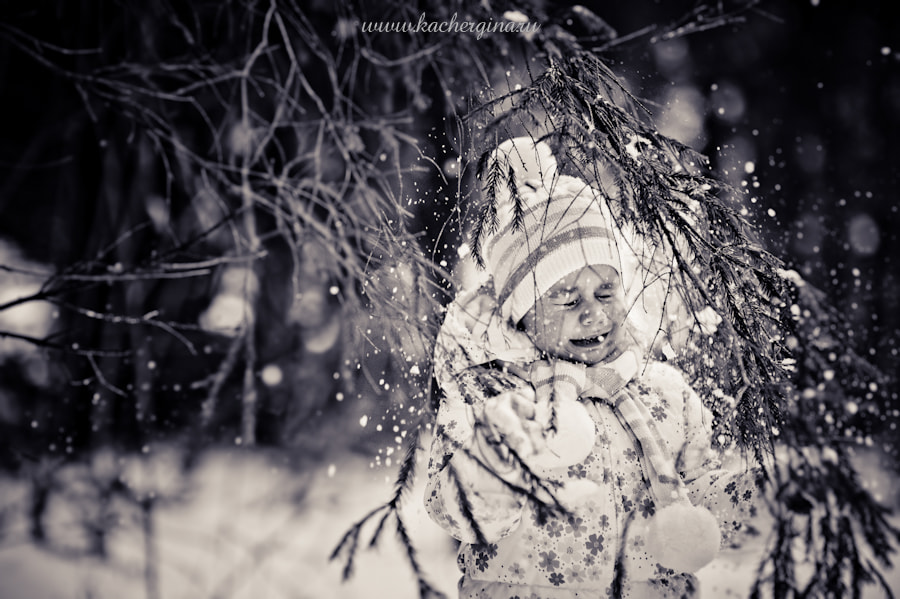 Photograph it is snowy! by Galina Kochergina on 500px