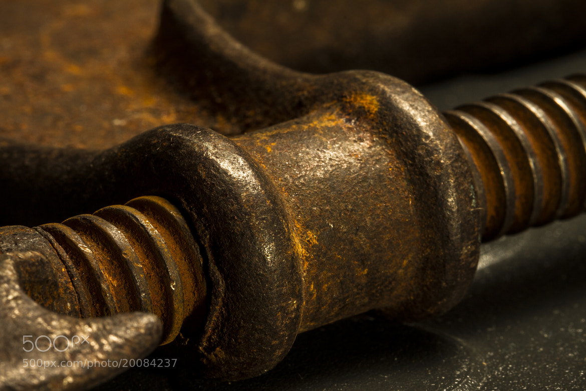 Photograph Rusty Clamp by Rob Rauchwerger on 500px