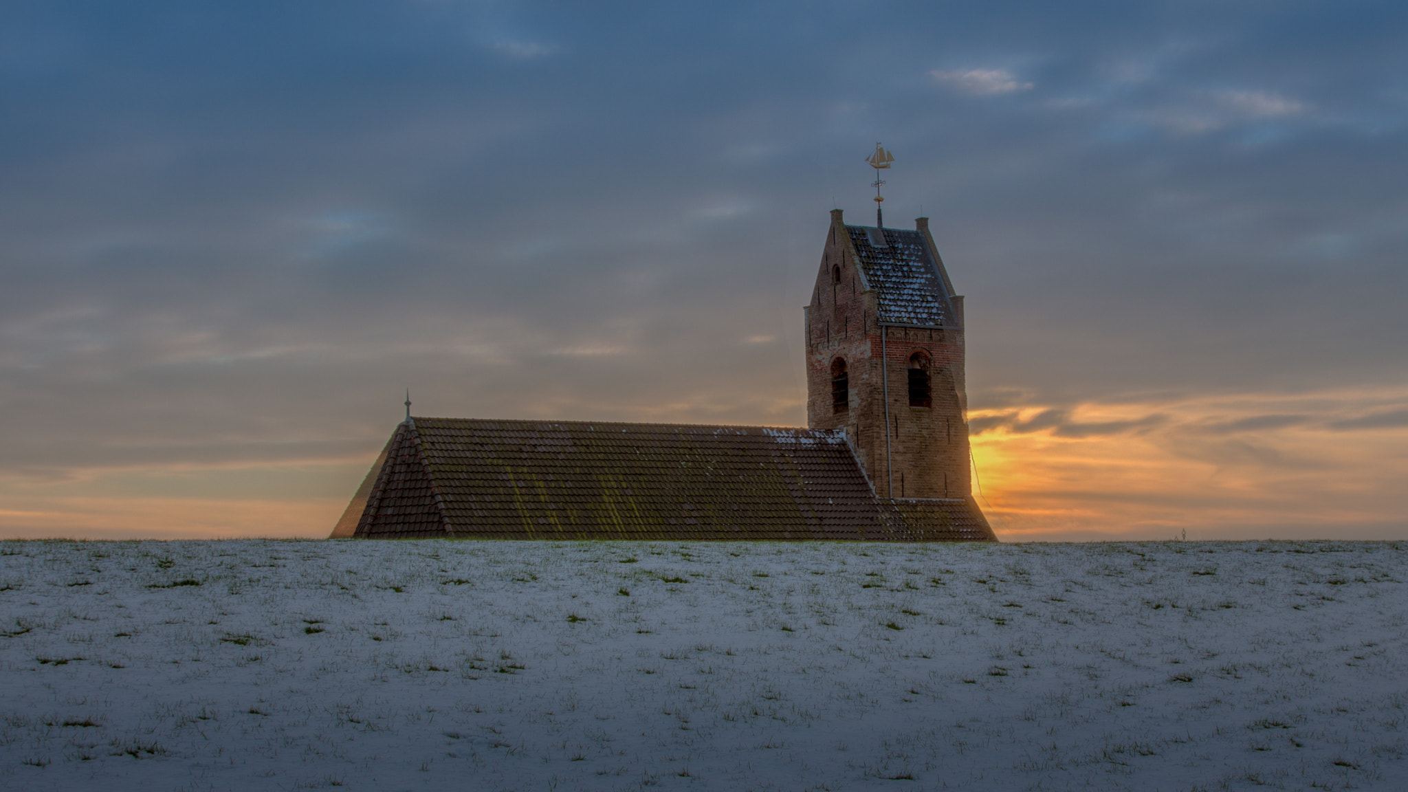 Photograph Church Wierum by Hoite Jouke on 500px