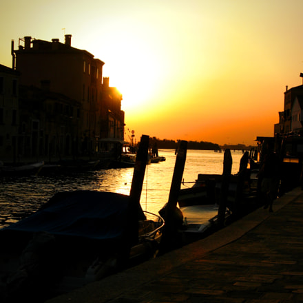 Evening in Venice, Canon POWERSHOT A630