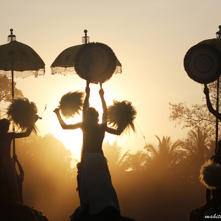 pooram, Canon EOS 60D, Canon EF 75-300mm f/4-5.6 USM