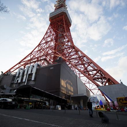 tokyo tower, Canon EOS 5D MARK III, Canon EF 16-35mm f/2.8L II