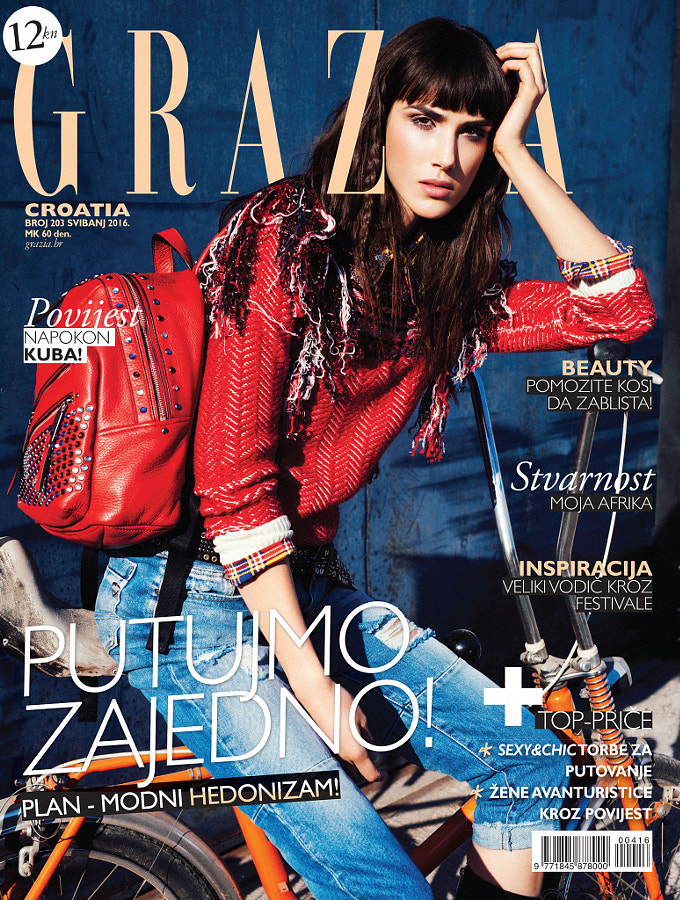 Grazia May 2016 Cover