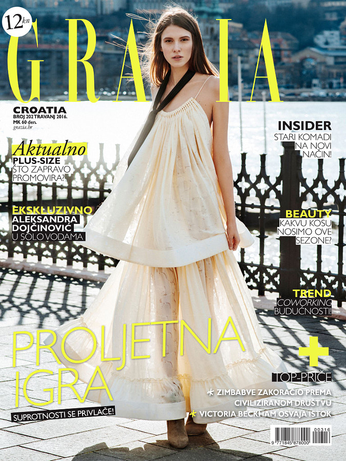 Grazia Cover April 2016