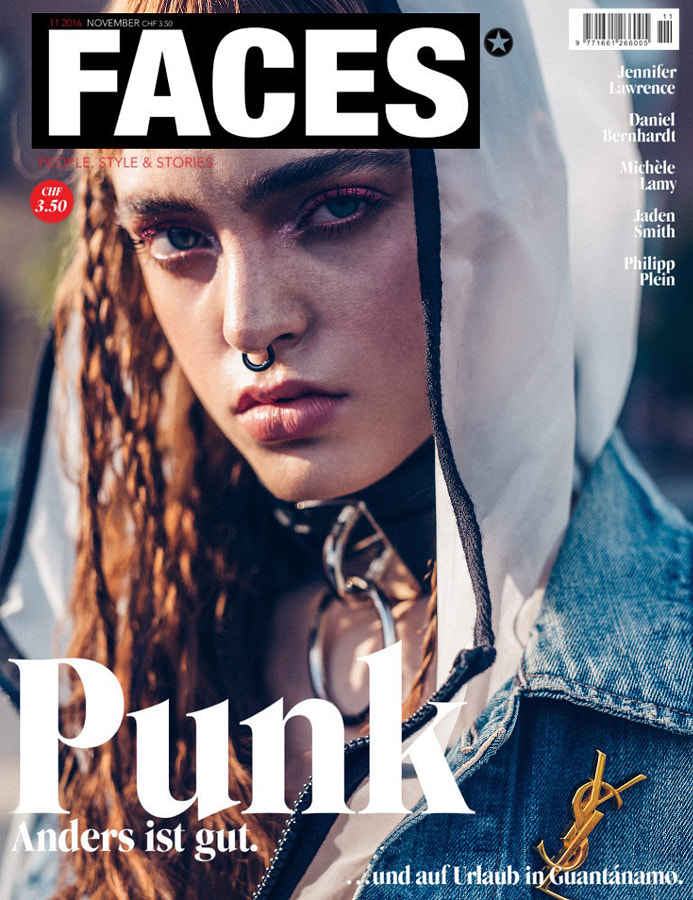 FACES Magazine November 2016 Cover