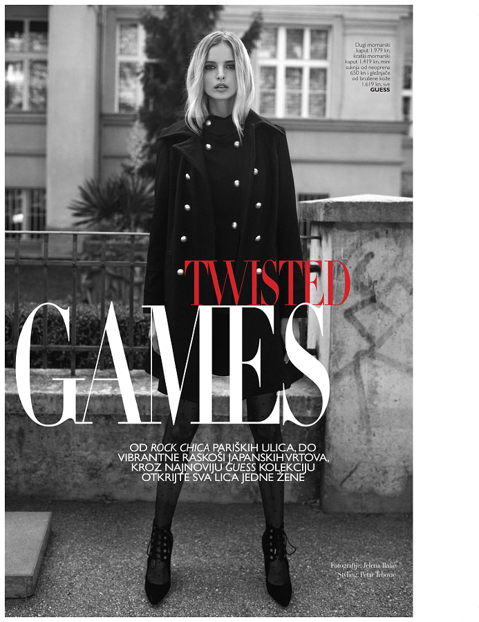 Grazia November 2016 Guess Advertorial