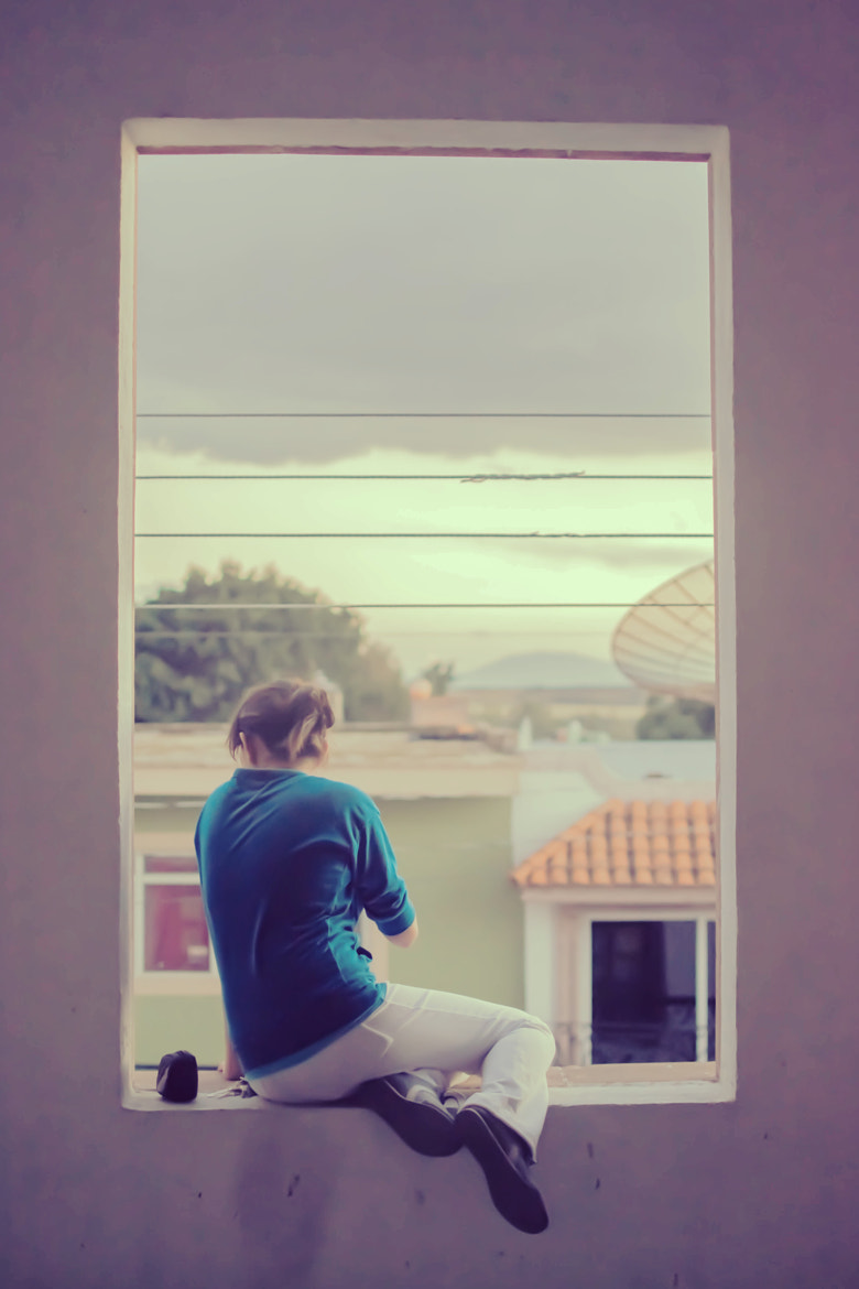 Photograph At the Window by Adrian Arias on 500px