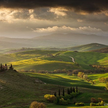 Belvedere in the light, Canon EOS-1DS MARK III, Canon EF 70-200mm f/2.8L IS II USM