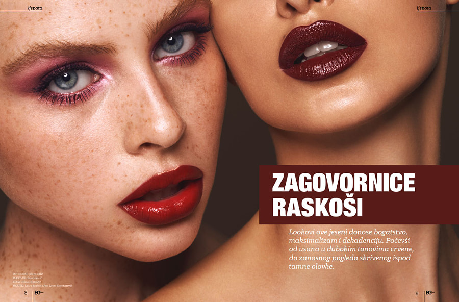 Bipa Card Magazine Beauty editorial March 2016
