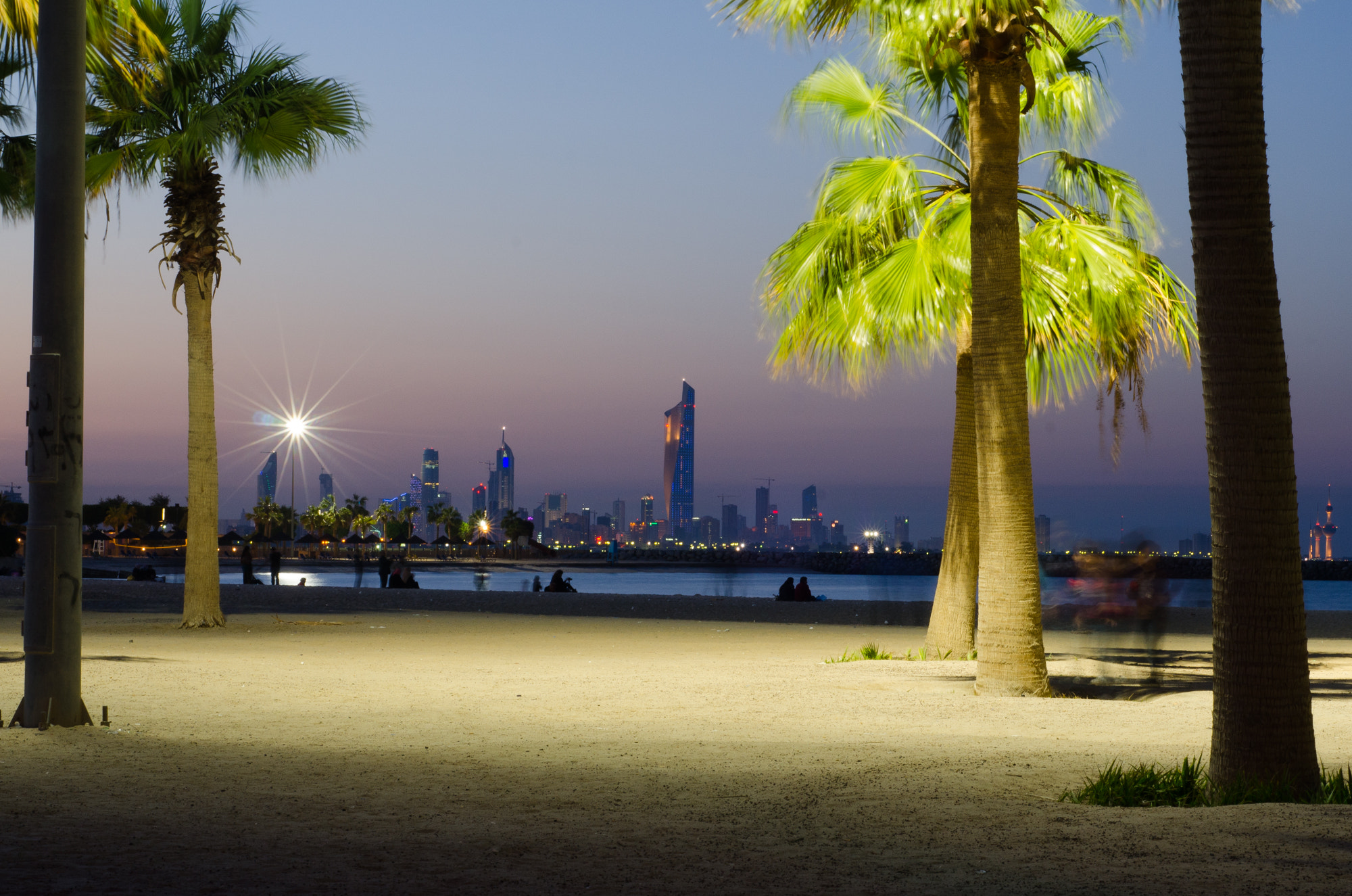 Photograph Al Hamra from Marina Beach by Yousef Abdul Husain on 500px