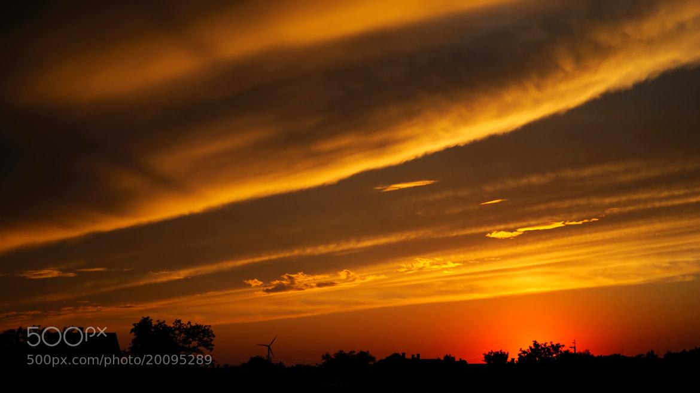 Photograph Striped sky by Barna Péter on 500px