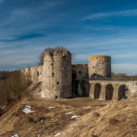 Old Northern fortress Kopor'ye