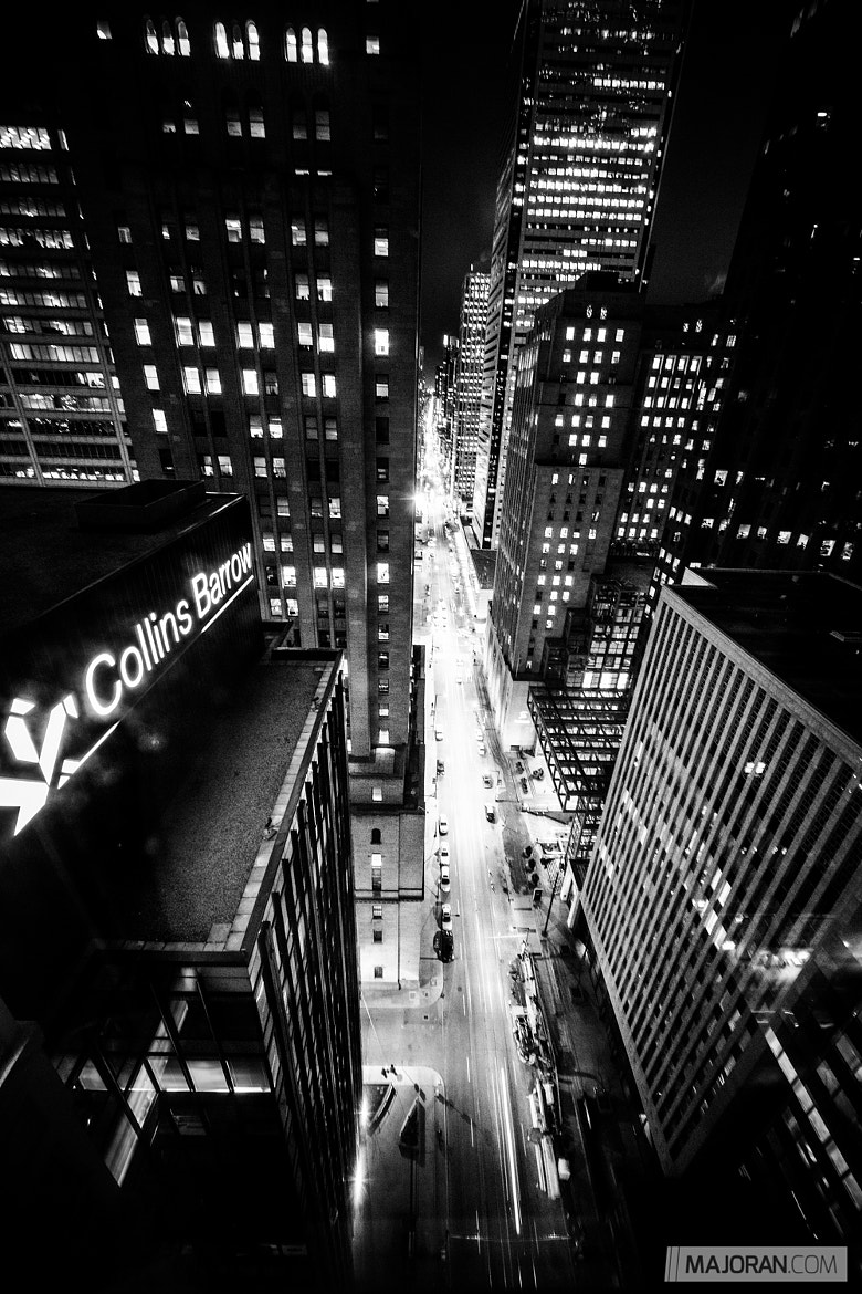 Photograph Cityscrapers / Night Version by Ray Majoran on 500px