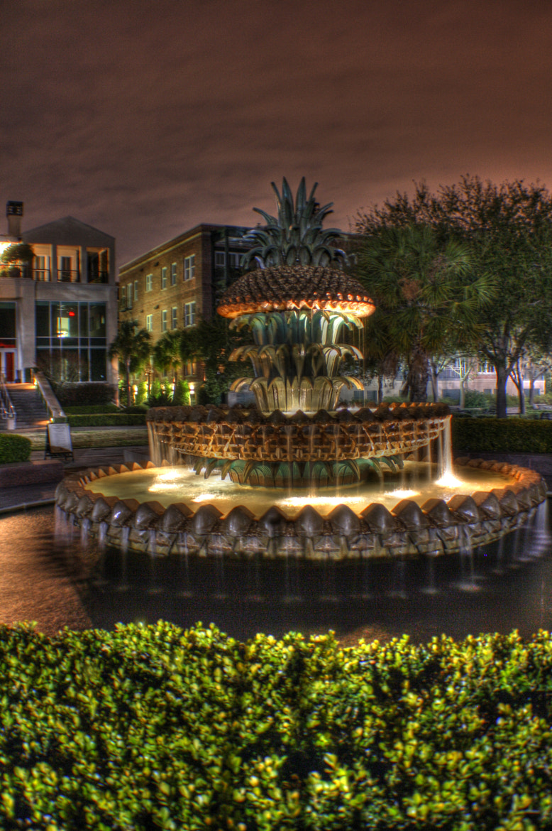 """Photograph """"Charleston: Fountain on the Battery"""" by Ryan Ball on 500px"""