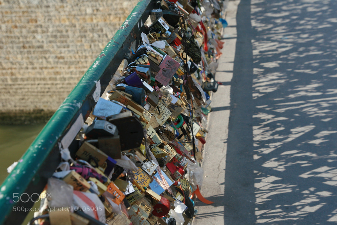 Photograph Locks on the bridge in paris by BJ Lee on 500px
