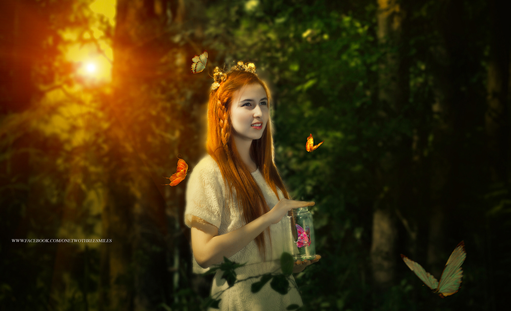 Photograph woman with the butterfly by ChaoPavit123Smiles on 500px