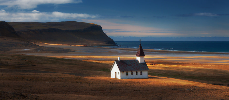Photograph Golden Church by Dylan Toh  & Marianne Lim on 500px