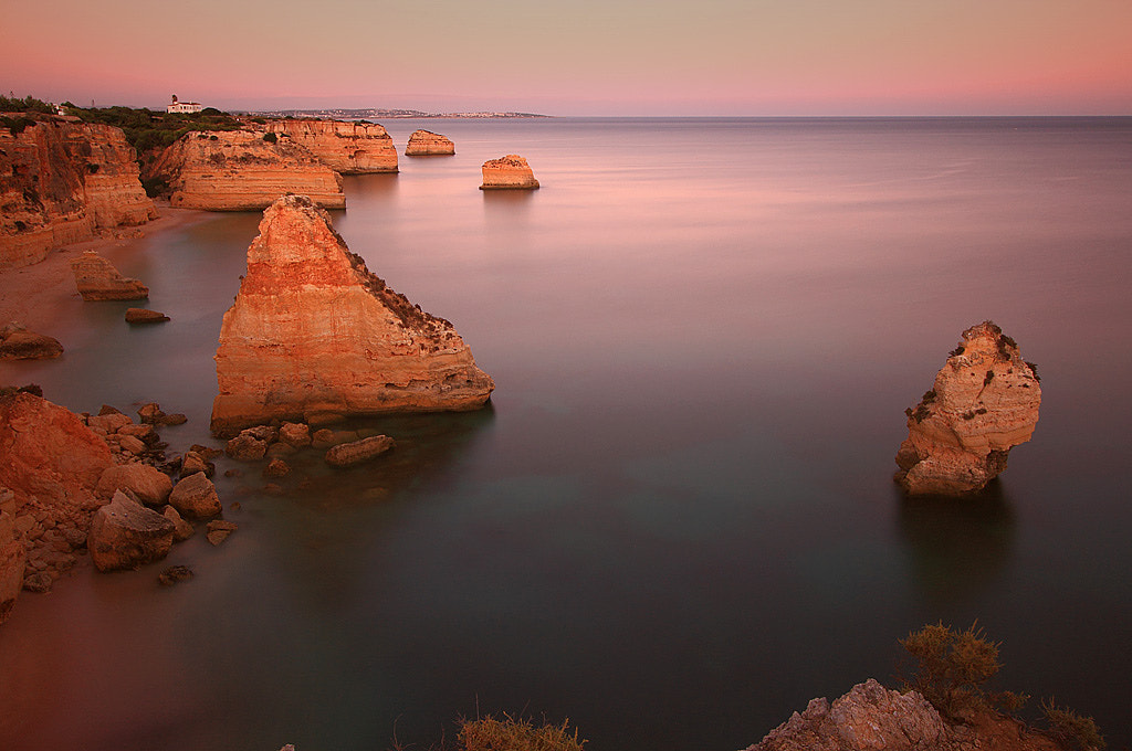 Photograph Sunset over the cliffs of Portugal by Roman Jott on 500px